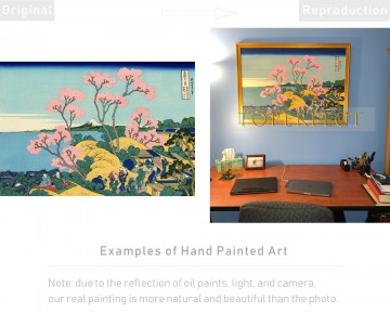 Examples of Reproductions by Professors Painting - Examples of Reproductions by Professors at Art Colleges 13