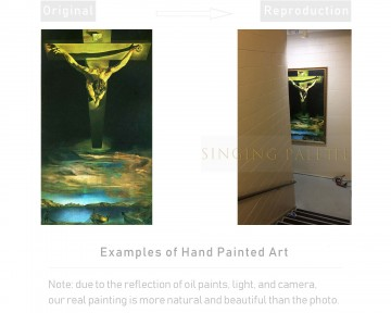 Examples of Reproductions by Professors Painting - Examples of Reproductions by Professors at Art Colleges 17