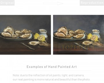 Examples of Reproductions by Professors at Art Colleges 19 Oil Paintings