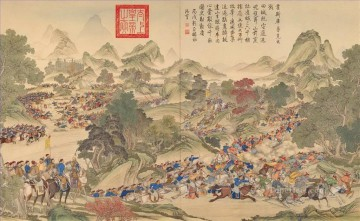 Traditional Chinese Art Painting - Lang shining war traditional Chinese