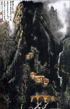 Li keran 10 traditional Chinese Oil Paintings