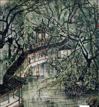 Chinese Painting - Li keran 9 traditional Chinese
