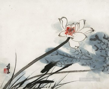 Traditional Chinese Art Painting - Chang dai chien lotus 32 traditional Chinese