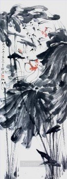 Traditional Chinese Art Painting - Chang dai chien lotus 6 traditional Chinese