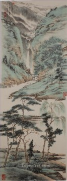 Li Chunqi 2 traditional Chinese Oil Paintings