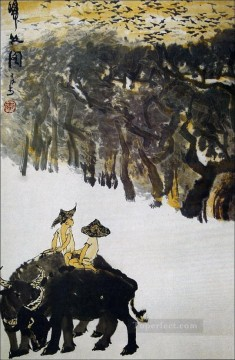 Li keran 2 traditional Chinese Oil Paintings