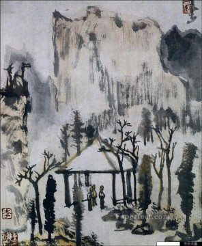 Li keran 4 traditional Chinese Oil Paintings