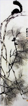 Qi Baishi squrirrel traditional Chinese Oil Paintings