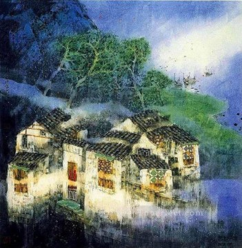 Ru Feng South China 3 Oil Paintings