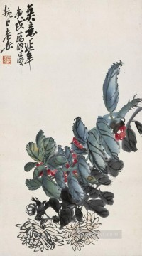 Traditional Chinese Art Painting - Wu cangshuo for ever traditional China