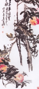 Traditional Chinese Art Painting - Wu cangshuo peach of 3000 years traditional China