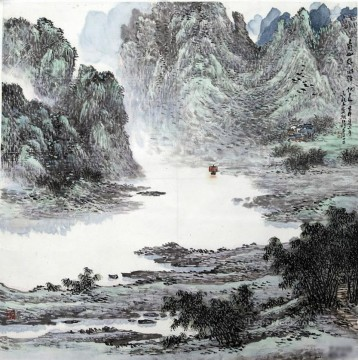 China Oil Painting - Wu yangmu 1 traditional China
