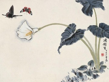 Traditional Chinese Art Painting - butterflies traditional Chinese