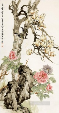 Traditional Chinese Art Painting - liubing affluence birds and flowers traditional Chinese