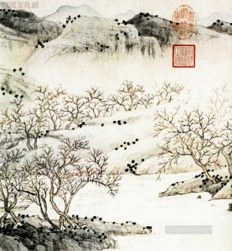 wen zhengming taoyuan traditional China Oil Paintings