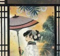 Hu Ningna Chinese lady in window