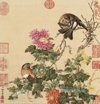 China Art Painting - Lang shining birds 1 traditional China