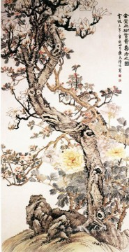 Luhui affluence flowers traditional China Oil Paintings