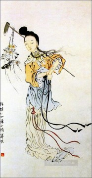 Traditional Chinese Art Painting - Qi Baishi little girl traditional China