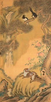 Chinese Painting - Shenquan happniess traditional China