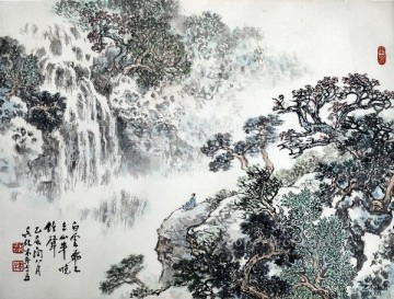 Wu yangmu 3 old Chinese Oil Paintings
