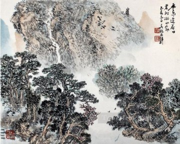 Wu yangmu 5 old Chinese Oil Paintings