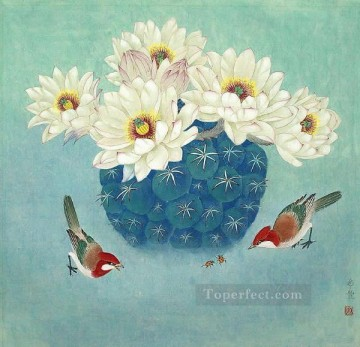 birds and bugs traditional China Oil Paintings