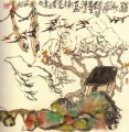 li huasheng sketch on a summer day 1981 traditional China
