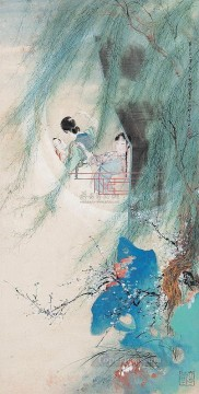 Hu yefo old Chinese Oil Paintings