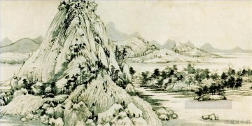 Chinese Painting - Huang gongwant Fuchun Mountain old Chinese