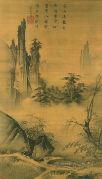 Mayuan travel old Chinese Oil Paintings