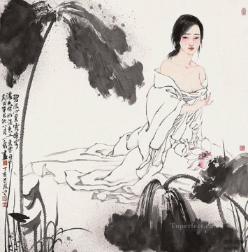 Traditional Chinese Art Painting - Zhou Yixin 1 antique Chinese