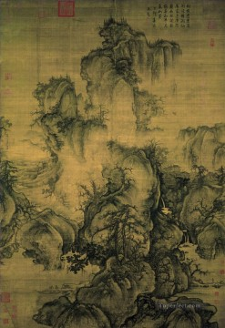 Traditional Chinese Art Painting - early spring guo xi traditional Chinese