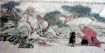 Chinese hermit Oil Paintings