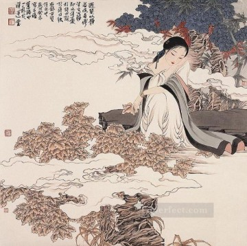 Chinese Painting - Zhou Yixin 7 antique Chinese