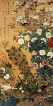 antique Canvas - Chen jiaxuan affluence antique Chinese