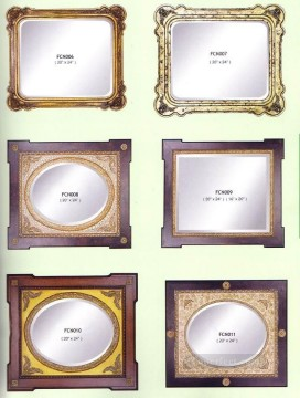 frcn002 corner flower oil painting frame Oil Paintings