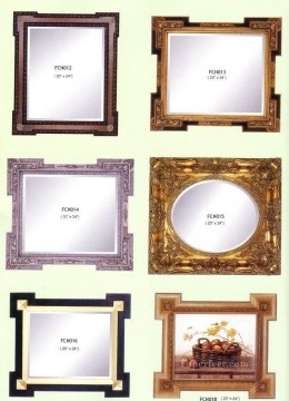 bath girl oil painting Painting - frcn003 corner flower oil painting frame