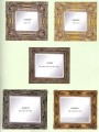 frcn004 corner flower oil painting frame