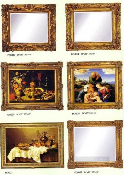 frcn005 corner flower oil painting frame Oil Paintings