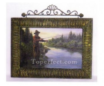 Mirror Painting - MM80 H01 42412 picture frame metal mirror frame