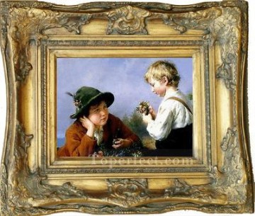 WB 121 antique oil painting frame corner Oil Paintings