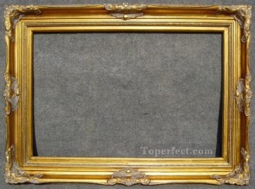WB 191 antique oil painting frame corner Oil Paintings