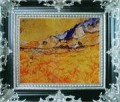 WB 216 antique oil painting frame corner