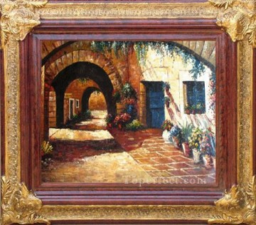 Antique Corner Frame Painting - WB 224 antique oil painting frame corner
