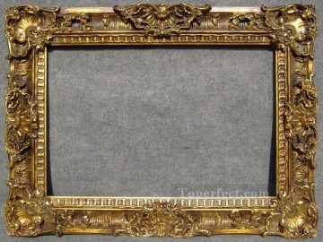 Antique Corner Frame Painting - WB 225 antique oil painting frame corner
