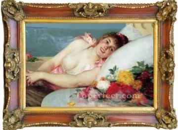 Antique Corner Frame Painting - WB 229 1 antique oil painting frame corner