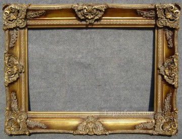 WB 247 antique oil painting frame corner Oil Paintings