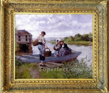 WB 37 antique oil painting frame corner Oil Paintings