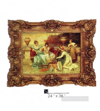 SM106 SY 2025 1 resin frame oil painting frame photo Oil Paintings